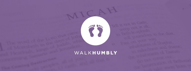 Vision Graphic - Walk Humbly